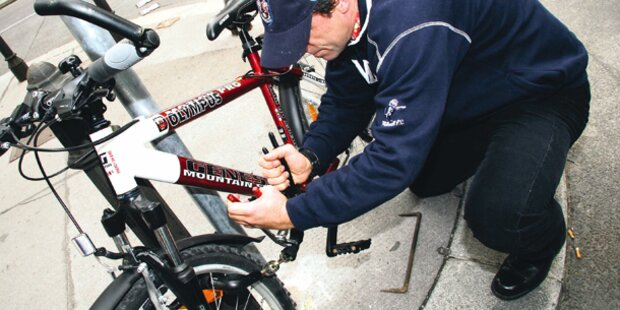 Rekord: Schon 10.000 Räder gestohlen