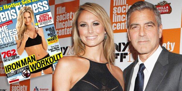 Clooney-Freundin Stacy Keibler zeigt Body