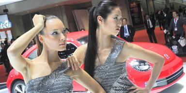 Die heißesten Girls der Tokyo Motor Show