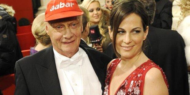 Niki Laudas Ball-Comeback