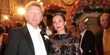 Opernball: Boris & Lilly Becker