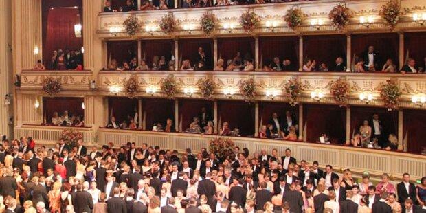 Opernball: Klassische Wiener Eröffnung