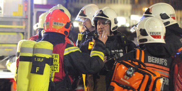 Ammoniak: Giftgas-Alarm in Wien