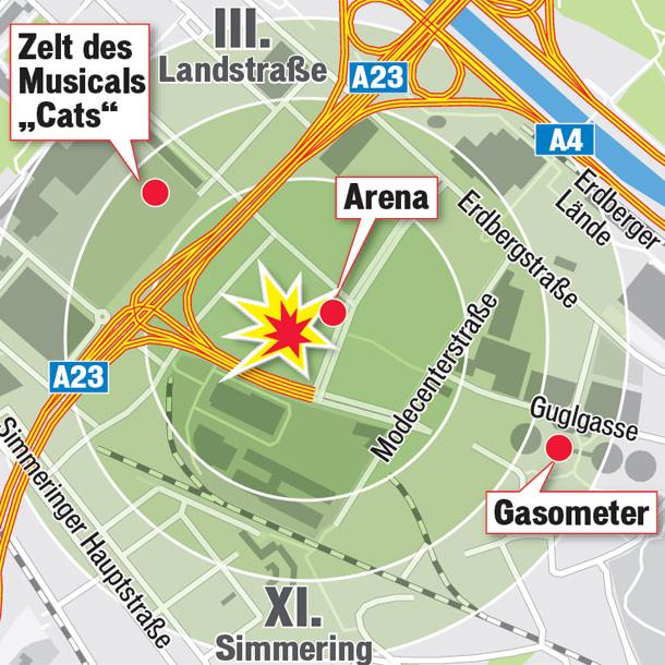 Giftgas in Wien