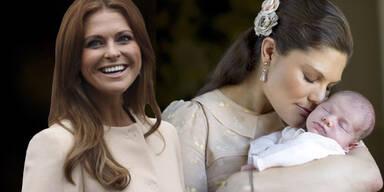 Prinzessin Madeleine von Schweden, Prinzessin Victoria, Prinzessin Estelle