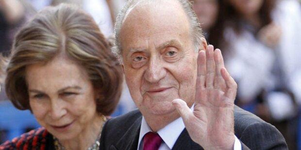 König Juan Carlos sagt Hochzeitstag ab