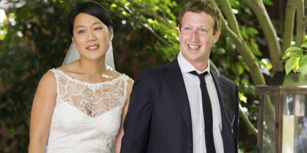 Zuckerberg-Hochzeit: 5 Monate geplant