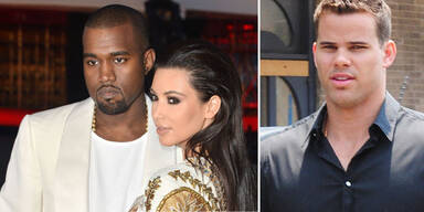 Kim Kardashian & Kanye West, Kris Humphries