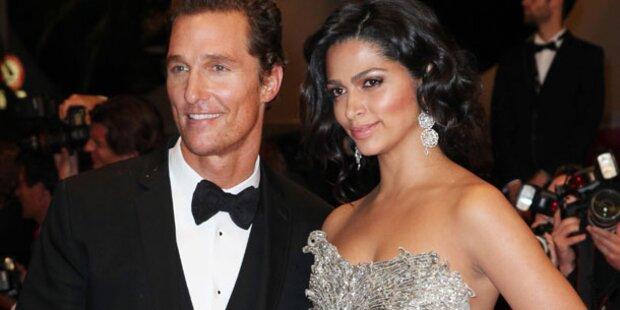 Matthew  McConaughey erneut Vater