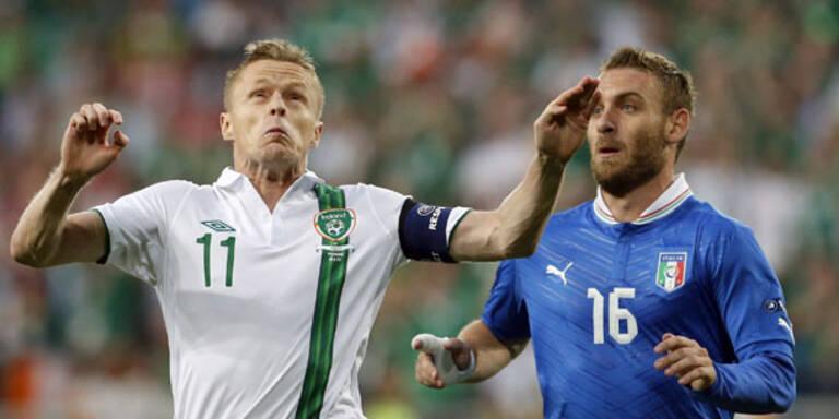 Viertelfinale: Italien im Freudentaumel
