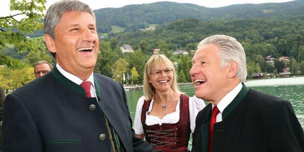 ÖVP: Neustart mit Dirndl...