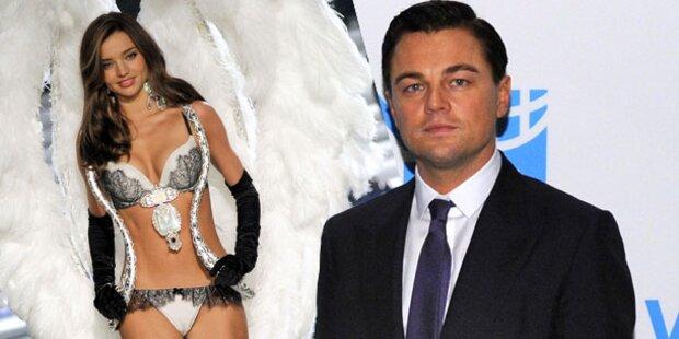 DiCaprio: Heißer Flirt mit Miranda Kerr?