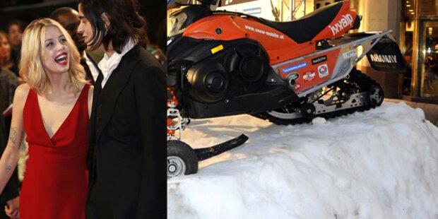 Peaches Geldof als Stargast bei Snow Mobile