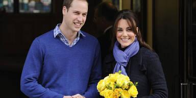 Herzogin Kate & Prinz William: Aus dem Krankenhaus entlassen
