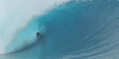 Spektakulärster Wellenritt des Jahres