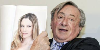 Richard Lugner mit Mira Sorvino zum Opernball