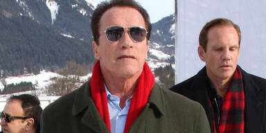Arnold Schwarzenegger in Kitzbühel