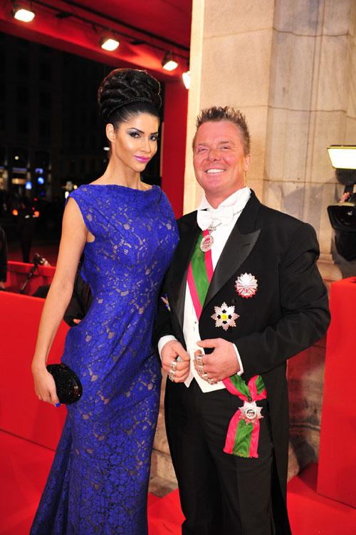 Opernball 2013: Micaela Schäfer & Prinz Marcus von Anhalt