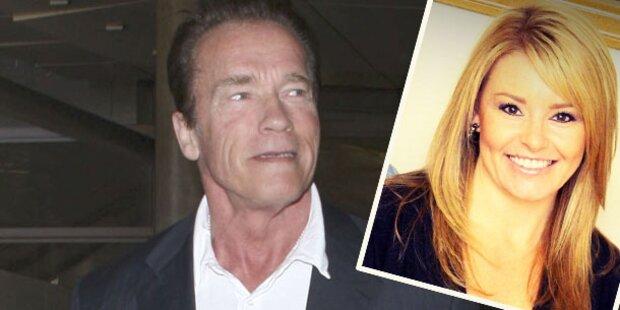 Schwarzenegger: Das ist seine Blondine