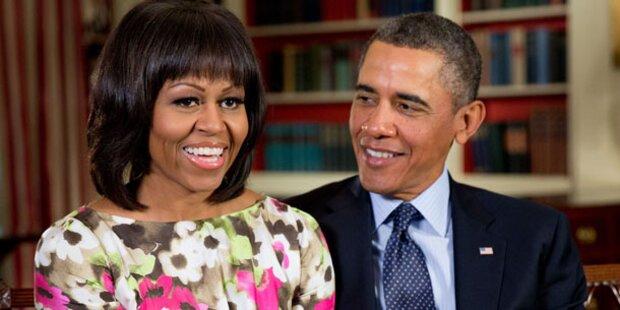 Obamas: Getrennte Schlafzimmer?