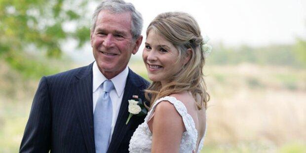 Erstes Enkerl für George W. Bush