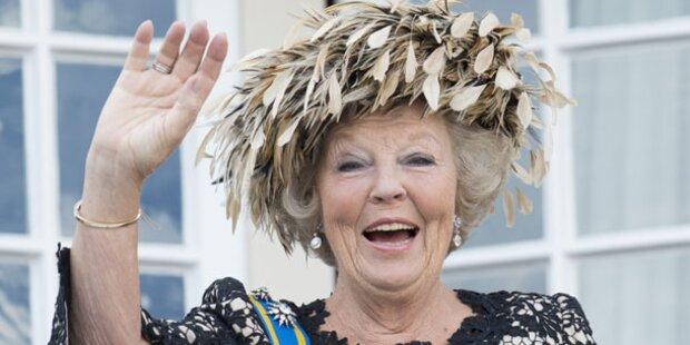 So nimmt Königin Beatrix heute Abschied