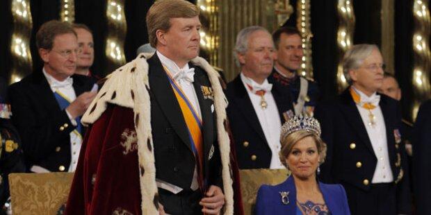 Willem-Alexander als König vereidigt