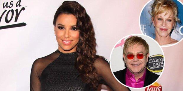 Life Ball mit Elton John und Eva Longoria