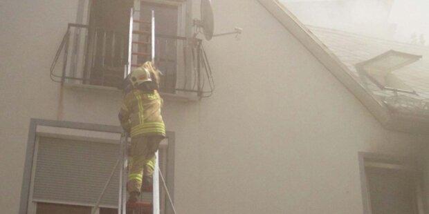 Saunabrand in Wohnhaus: 8 Verletzte