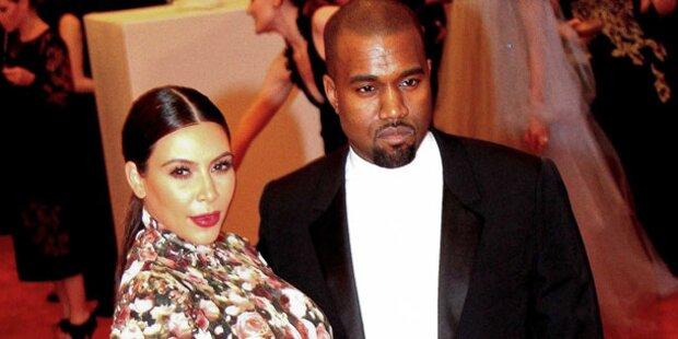 Kim Kardashian & Kanye West vor dem Aus?