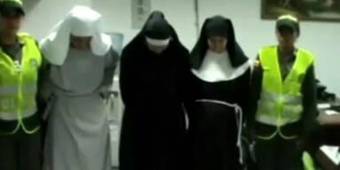 Falsche Nonnen beim Koksschmuggel ertappt