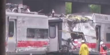USA: 70 Verletzte durch Zugsunglück