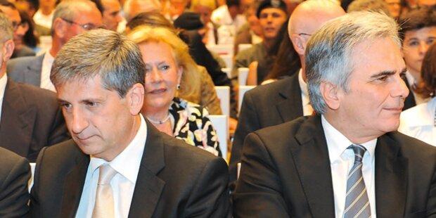 Umfrage: Kanzler legt zu, ÖVP verliert