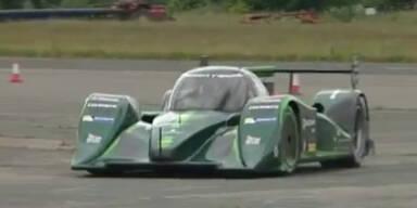 300 km/h: Elektro-Auto rast zu Weltrekord
