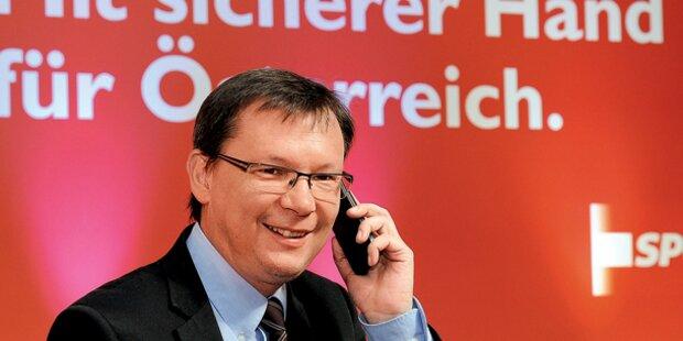 SP-Wahlkampfchef ruft 60.000 Genossen an