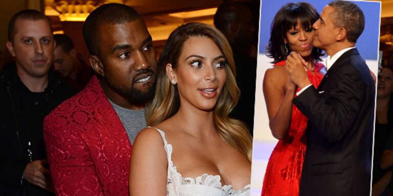 Kanye: Kim ist wichtiger als Michelle Obama