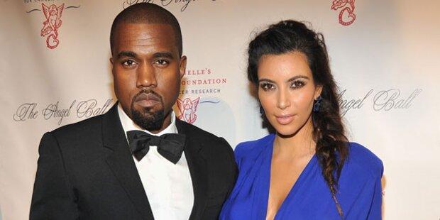 Kim und Kanye: Baby Nr. 2 nach Hochzeit?