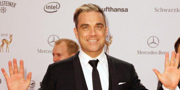 Fix: Robbie kommt nach Wien