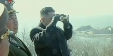 Nordkorea startet Manöver
