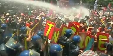 Proteste gegen Obama in Manila