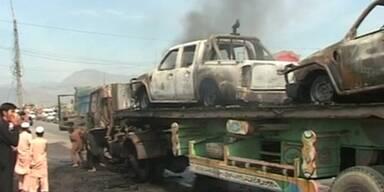 Tote bei Angriff auf NATO-Konvoi in Pakistan