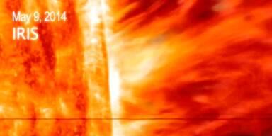 Gigantische Sonneneruption