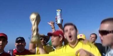 Proteste und Vorfreude vor dem Start der WM