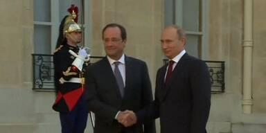 Treffen mit Putin