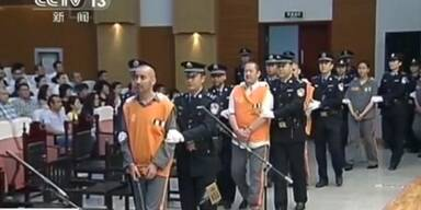 Todesurteile nach Pekinger Anschlag