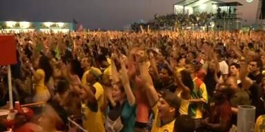 Jubel an der Copacabana