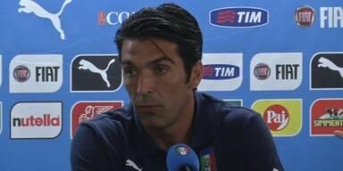 Buffon und Italien zeigen sich optimistisch
