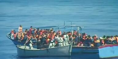 30 Leichen auf Flüchtlingsboot vor Sizilien entdeckt