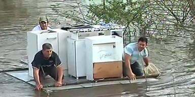 Verheerende Flutschäden in Argentinien