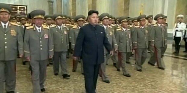 Irrer Kim verurteilt feindliche US-Politik